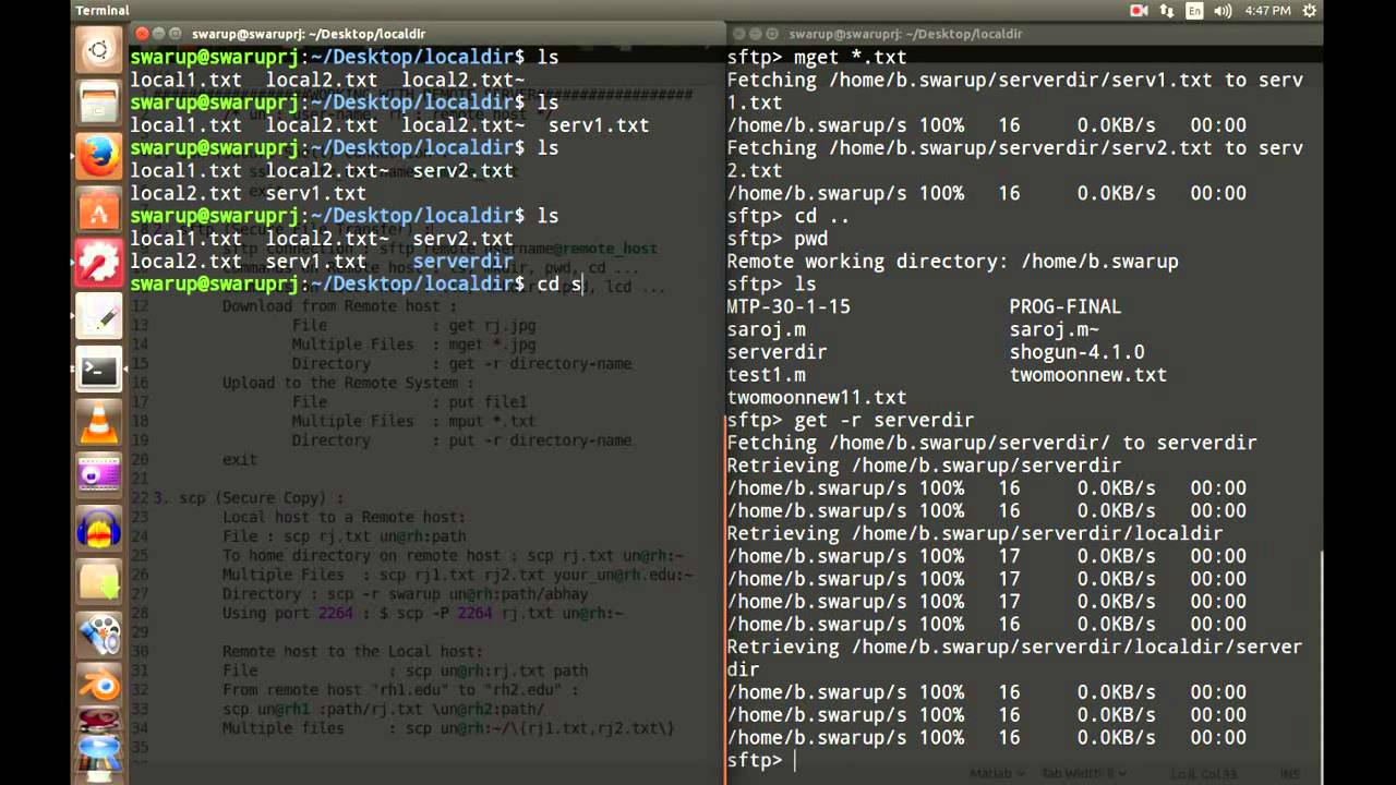 Linux in 11 Minutes: 6  Working With Remote Server (SSH, SFTP, SCP)
