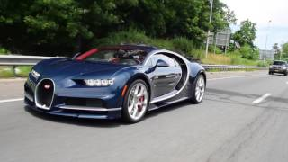 Driving with a Bugatti Chiron! FULL THROTTLE Acceleration onto Highway!