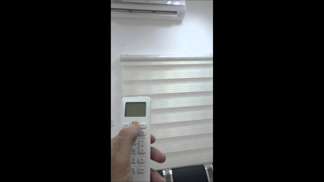 Samsung Split AC remote display problem and Review