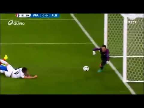 France vs Albanie la boulette de Sagna 15/06 Euro 16   HD