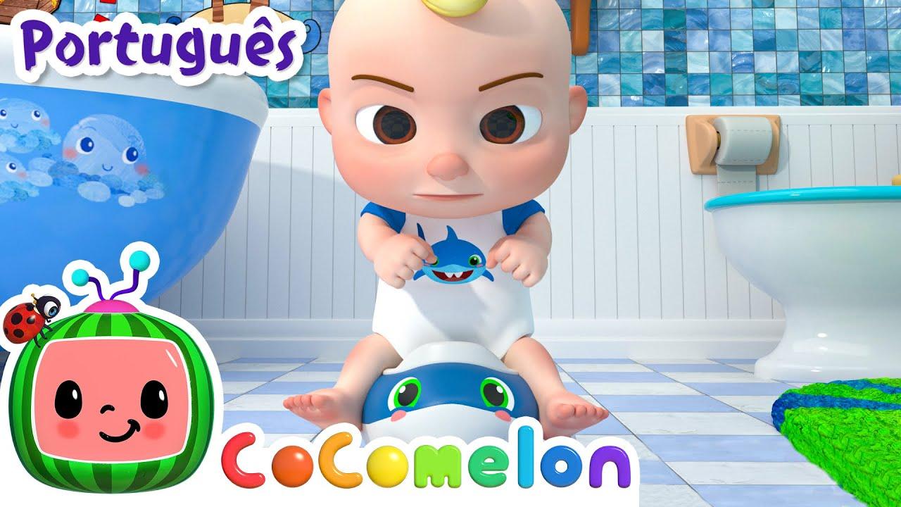 CoComelon em Português   Vá já pro banheiro   Músicas Infantis   Desenhos Animados