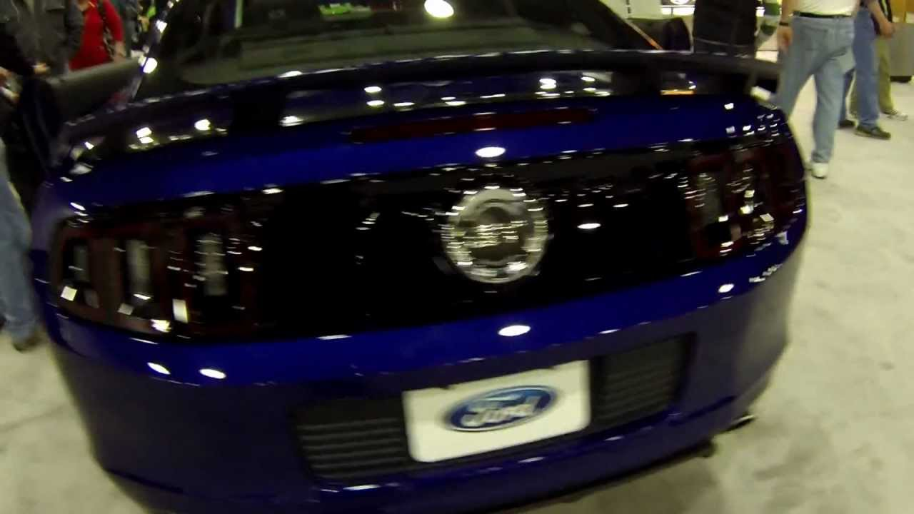 2013 Mustang Gt Cs Deep Impact Blue Youtube