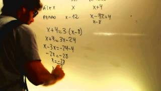 Problema edades Matematicas 2 ESO Academia Usero Estepona