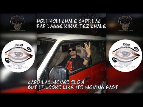"BOHEMIA English Translation - Full HD Lyrics of 'Cadillac' By ""Bohemia"" With 'English Meaning'"