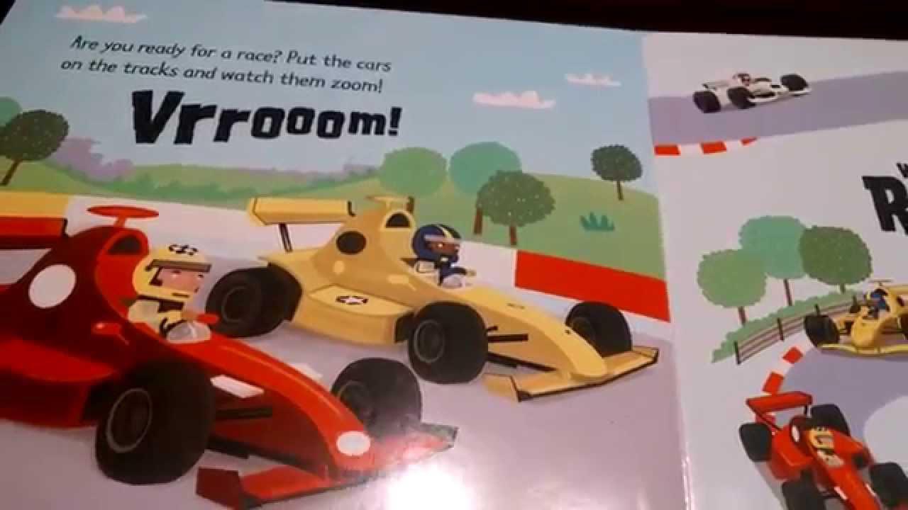 Usborne Wind Up Race Cars Youtube