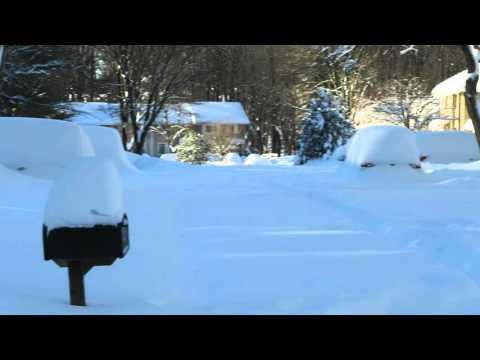 Historic snowstorm (blizzard) 2016 near Washington DC Part 3