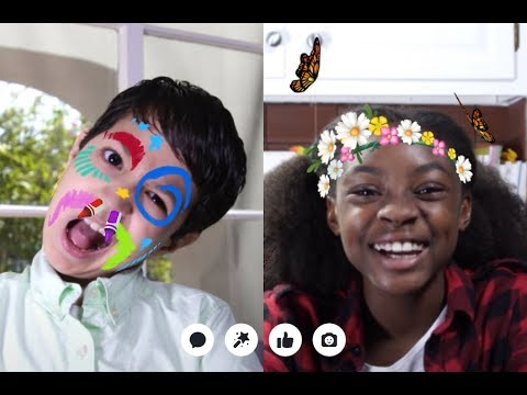 Facebook Messenger Kids Demo Video