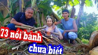 Ốc Móng Tay Úp Chảo - Bà Cụ 73 Tuổi Lần Đầu Tiên Biết Món Này | Son Duoc Vlogs