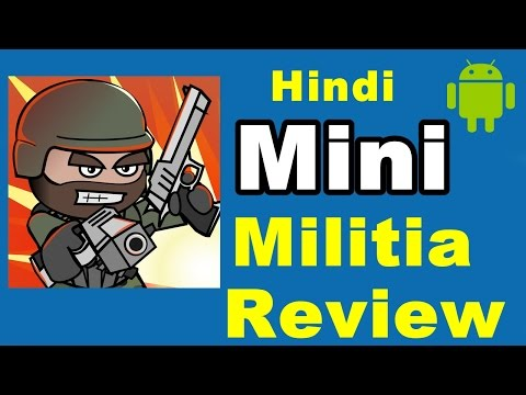 Mini Militia | Android Game Review | (In Hindi)