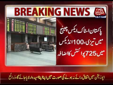 Stock Market Begins With Positive Response, Index Up By 726 Points