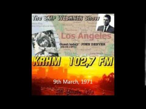 John Denver  The Skip Weshner  1970  1971
