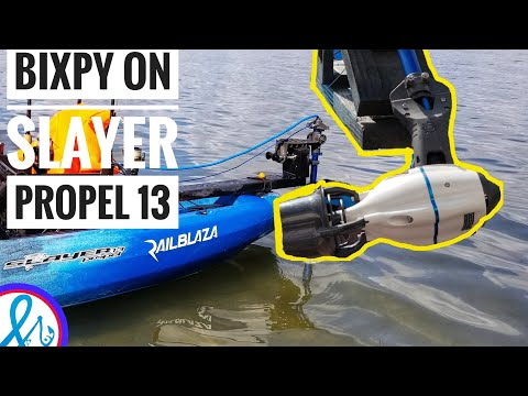 Motorized Kayak Bixpy JET Water Propulsion System Slayer Propel 13