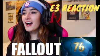 Fallout 76 – Official E3 Trailer Reaction