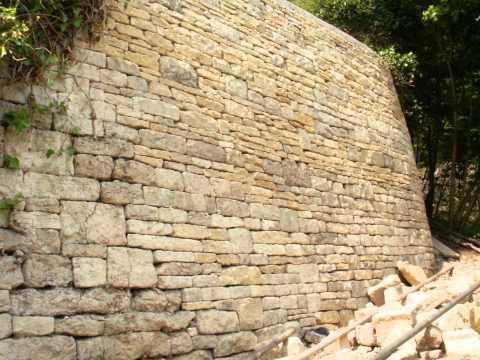 how to build a dry stone bridge