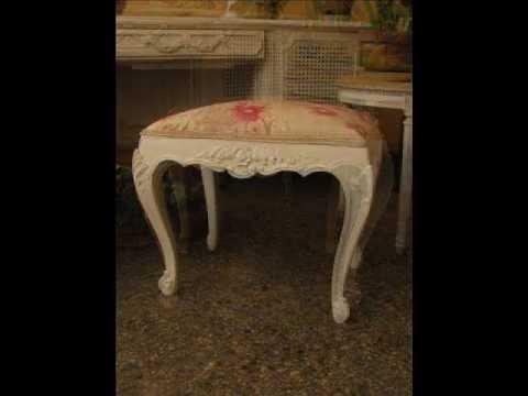 Antique Furniture Louis XV (Mirrors, Chairs, Vitrine and Frames) Shabby Chic Peru