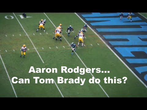 Aaron Rodgers Amazing Accuracy CAN TOM BRADY DO THIS?