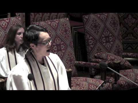 """U'Netaneh Tokef"" Cantor Angela Buchdahl, 2013"