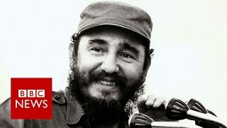 Fidel Castro, Cuba's leader of revolution, dies at 90 - BBC News