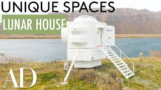 Inside a Precisely Designed Lunar Lander Replica House | Unique Spaces | Architectural Digest