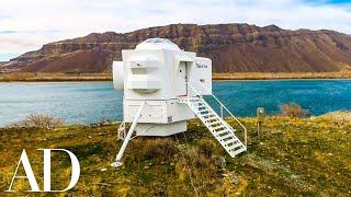 Inside An Apollo Lunar Lander Tiny House | Unique Spaces | Architectural Digest
