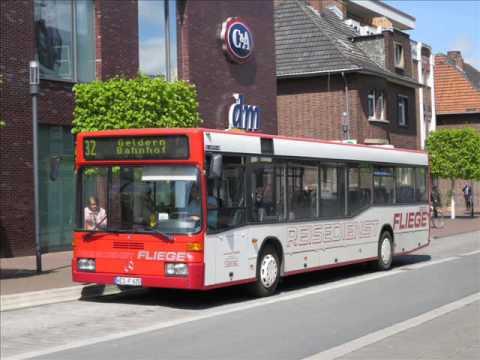 [Sound] Bus Mercedes O 405 N2 (WES-F 620) der Fa Fliege Ohlenforst Verkehrsges. mbH, Kamp-Lintfort