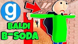 Brand New Baldi Gets B-Soda'd! Baldi's Basics in Education and Learning Gmod Saves Spotlight #2
