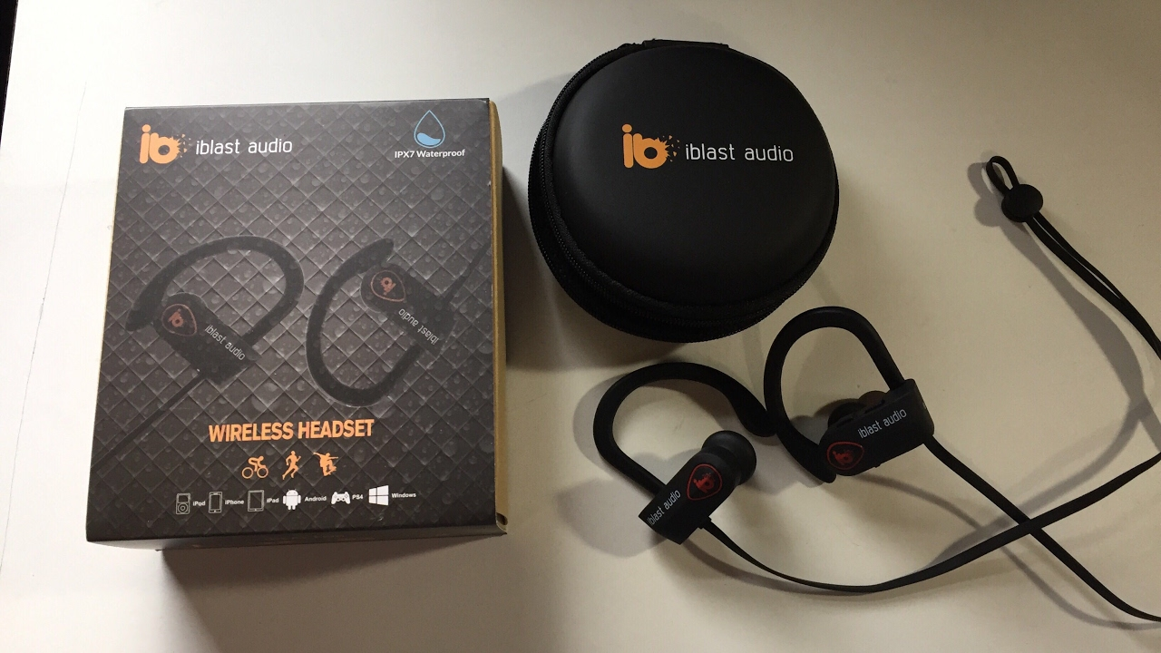 iblast audio bluetooth headphones unboxing review youtube. Black Bedroom Furniture Sets. Home Design Ideas