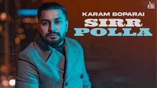 Sirr Polla | (Official Video) | Karam Boparai | New Punjabi Songs 2021 | Jass Records