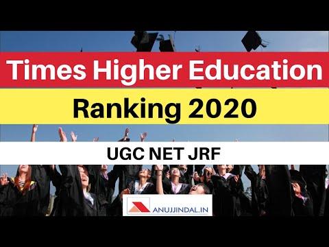 Times Higher Education Ranking 2020 | Released In September 2019