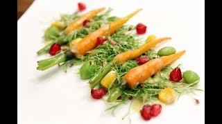 Baby Carrot Green Salad | Grow To Eat | Chef Shalaka | Sanjeev Kapoor Khazana
