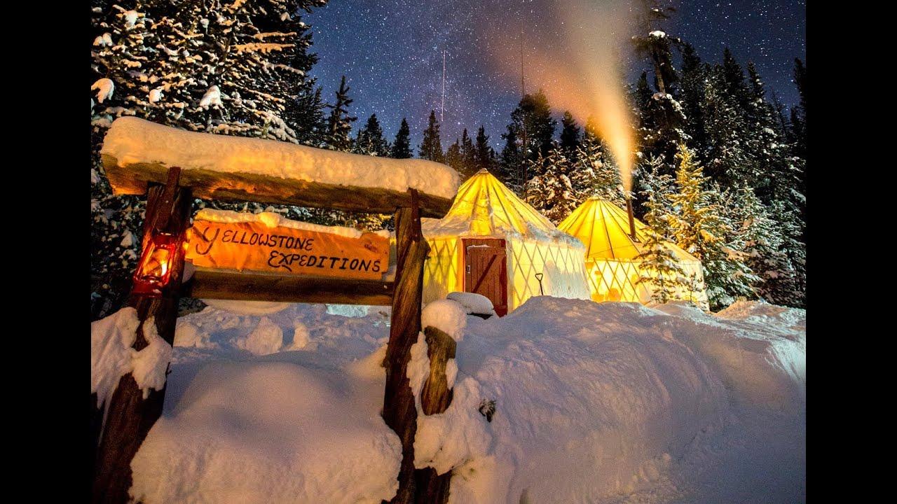 Exploring Yellowstone's winter wonderland - YouTube