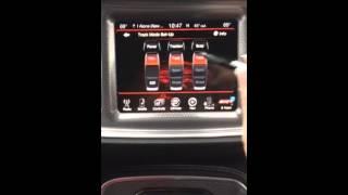 Dodge Hellcat Setting launch control RPM Hellcat