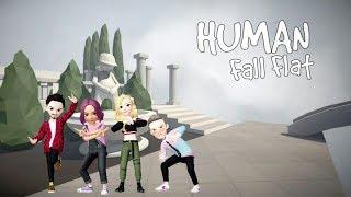 Свингеры пробуют новые позы в Human Fall Flat #3