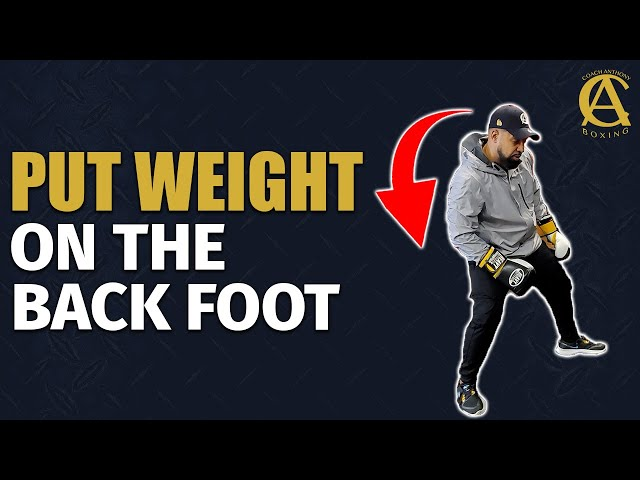 Put Some Weight On The Back Foot [ Vital Information! ]