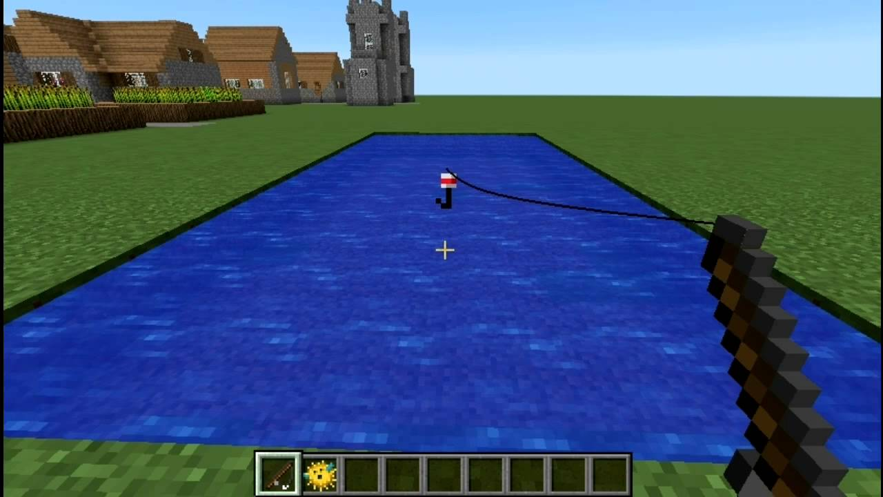 minecraft fishing rod