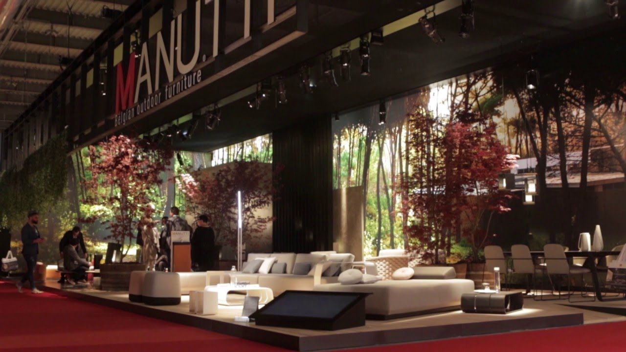Manutti salone del mobile milano 2016 youtube for Fiera mobile milano 2016