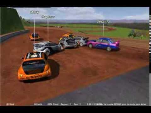Course AUTOCROSS FRANCE ONLINE RACING du 27 10 2013 - rFactor