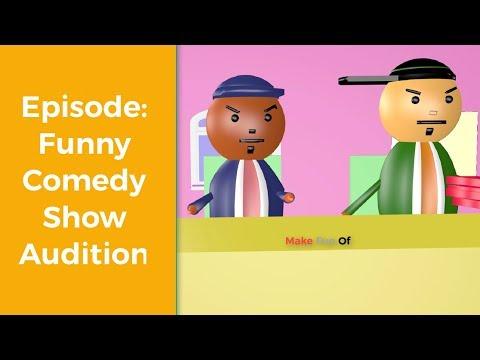 Make Joke Of Judge Funny Comedy Audition - Make Fun Of