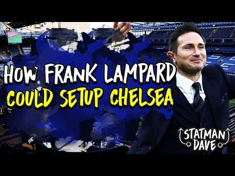 How Lampard Could Set Up Chelsea Next Season | Starting XI, Formation & Tactics