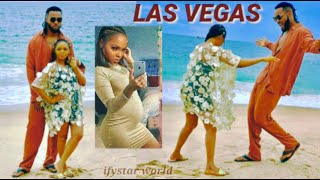 Honeymooning Of PREGNANT Chidimma and Flavour in Las Vegas After Her Traditional Marriage