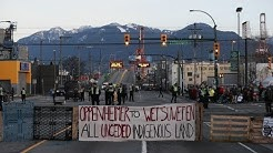 Pipeline protests continue in B.C.