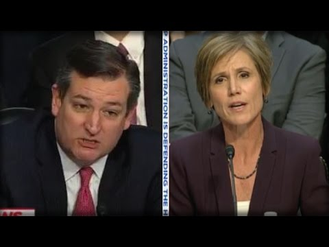 BOOM! WITH ONE QUESTION TED CRUZ GOT SALLY YATES TO GIVE UP THE DARKEST SECRET ABOUT OBAMA
