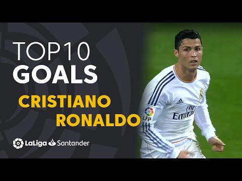 TOP 10 GOALS LaLiga Cristiano Ronaldo