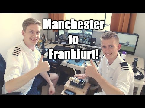 👨✈️✈️👨✈️ Multi Crew VATSIM Flight: Manchester To Frankfurt! | PMDG Boeing 777 | P3D V4.3!