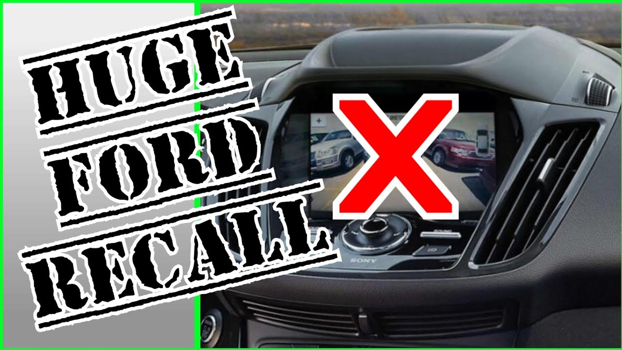 Ford Recall 2020 Backup Camera Recall On Ford Vehicles