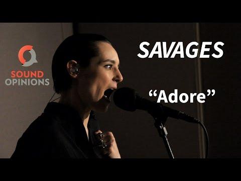 Savages perform