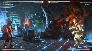 MKX - Biggest Combos for Every Character/Variation (2015)