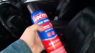 видео как клеить потолок