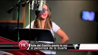 kate del castillo ser la muerte en pelcula the book of life video