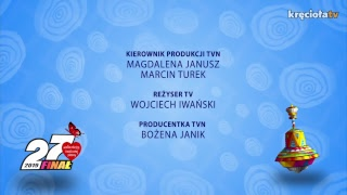 WEJŚCIE 12, TVN - 27. Finał WOŚP